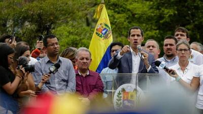 """Guaidó apela a una """"cooperación"""" con las fuerzas armadas de EEUU para restablecer la democracia en Venezuela"""