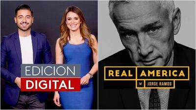 Edición Digital y Real America With Jorge Ramos, los dos programas de Univision que debutarán en Facebook Watch