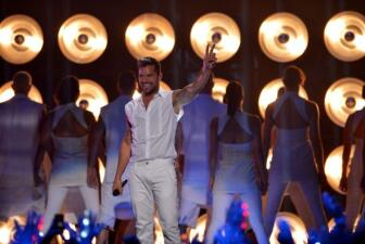 'Come with me', Ricky Martin