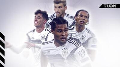 Gnabry lidera la nueva generación de la selección alemana