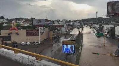 Estado de emergencia: fuertes inundaciones dejan un muerto en Sonora
