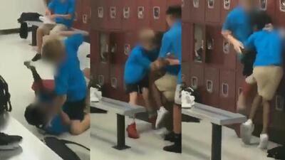 (VIDEO) Niño negro recibe violenta golpiza por estudiantes blancos y la escuela intentó encubrir el incidente