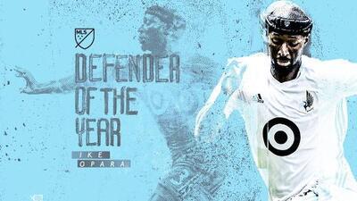 Ike Opara de Minnesota United FC es nombrado Defensa del Año de la MLS