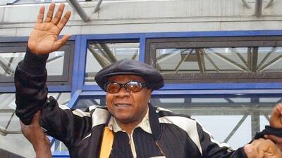 Papa Wemba, considerado el rey de la rumba congoleña, murió en pleno escenario