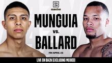 Jaime Munguía ya tiene reemplazo para pelea en abril