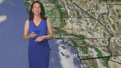 Fresco y cielo parcialmente nublado para este martes en Los Ángeles