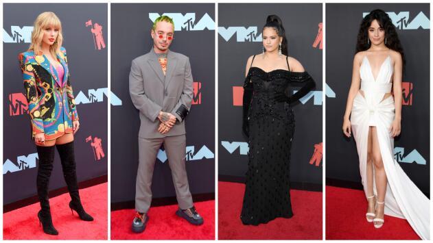 Los mejor y peor vestidos de los MTV VMAs: J Balvin está 20 años adelantado en moda y Rosalía lució señorial
