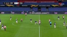 ¡GOOOL! Ridgeciano Haps anota para Feyenoord.
