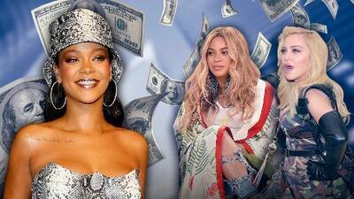 Ni Beyoncé, ni Madonna: Rihanna es la más rica según Forbes