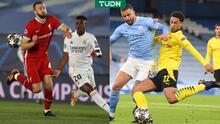 Sin mañana: Esto necesitan Real Madrid, Liverpool, Dortmund y City para Semis