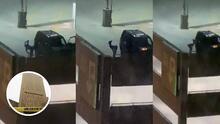(Video) 'Twerking' gratuito: Bailarina exótica hace show frente a una cárcel para cientos de presos