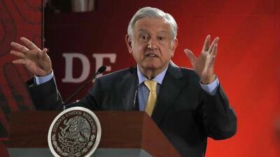 """AMLO asegura que actuará con """"prudencia"""" ante las amenazas de Trump sobre el cierre de la frontera"""