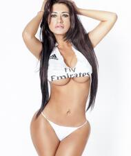 Mirtha Sosa, la sexy fan del Madrid que no pudo celebrar