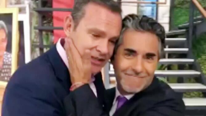 Por la amistad que los une, Raúl Araiza comparte con Alan Tacher su dolor por separarse de su esposa Fernanda