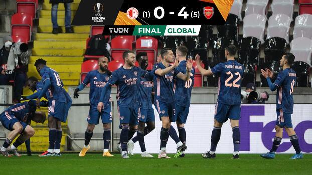 ¡Detonan los cañones! Arsenal se pasea y está en Semifinales