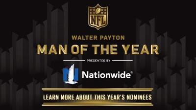 Nominados al 'Man of the Year' de la NFL