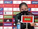 """Mónica Vergara tras derrota ante España: """"Vamos a sentirnos orgullosos de esta generación"""""""
