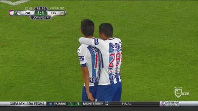 Pachuca despierta y gana su primer partido del torneo a costa del subcampeón Tigres