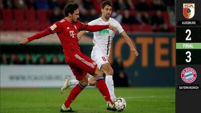 ¡Espectacular! El Bayern Múnich remonta y se acerca a dos puntos del Dortmund