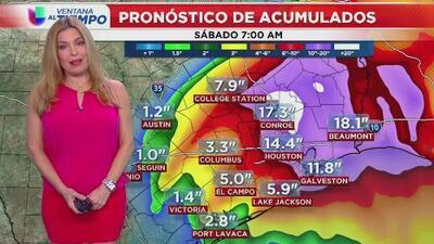 Alerta por tormenta tropical desde Houston hasta Corpus Christi