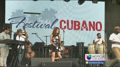 Festival cubano en el parque Riis