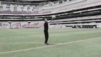 Desde el Azteca, Manuel Negrete revivió su golazo de media tijera en el Mundial de México 86