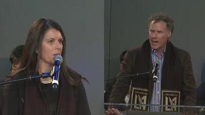 Mia Hamm y Will Ferrell se une al grupo de propietarios de Los Angeles Football Club
