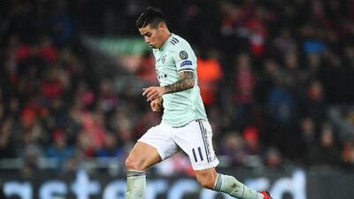 James considera positivo el empate en Anfield ante el Liverpool