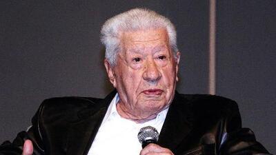 El primer actor Ignacio López Tarso celebró 93 años haciendo lo que más ama: actuar sobre un escenario