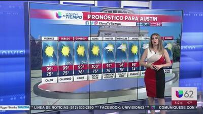 Mira el pronóstico para este viernes en Austin