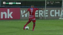 ¡Qué golazo! Jorman Aguilar saca un rayo y pone el 1-2 para los locales
