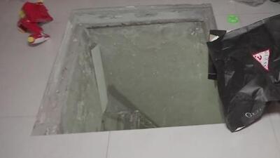 Descubren un extenso túnel construido por narcotraficantes en México