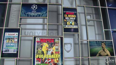 ¿Fue o no penalti? Portadas de algunos de los principales medios deportivos de Europa