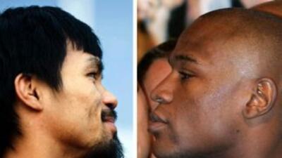 Floyd Mayweather Jr. y Manny Pacquiao castigados por los aficionados