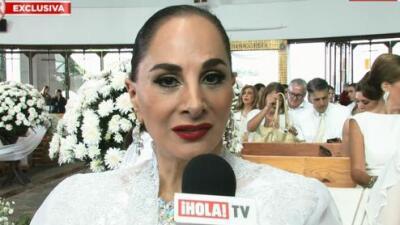 Susana Dosamantes recuerda su amistad con Rocío Jurado