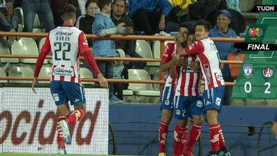 ¡Peligra Palermo! Pachuca cayó en casa ante San Luis
