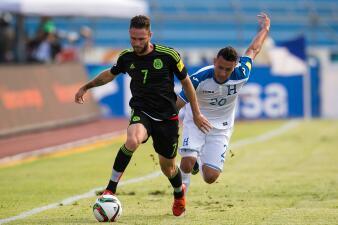 Calificamos a los jugadores del Honduras vs. México