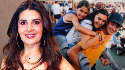 Así han crecido los hijos de Mayrín Villanueva, los que tuvo con Jorge Poza y Eduardo Santamarina