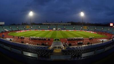 Estadio Vasil Levski, el fortín de Bulgaria que quiere revivir las glorias de su selección