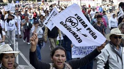 'Gasolinazo': quien no sabe explicar, no sabe gobernar