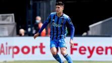 Edson Álvarez lamentó haber sido expulsado ante Feyenoord