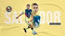 América hace oficial el fichaje de Salvador Reyes para el Apertura 2021