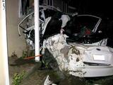 La potencia no es para todo el mundo: conductor borracho destruye un Subaru WRX en aparatoso accidente