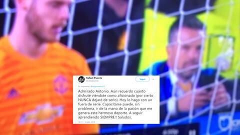 Así respondió Rafa Puente los ataques del 'Negro' Santos