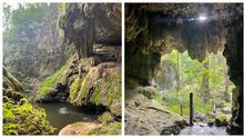 Un paraíso escondido: esta reserva natural cerca de Austin ofrece una aventura con cuevas y cascadas