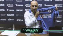 ¡Amor eterno! Óscar Pérez se enamoró de la playera de Cruz Azul