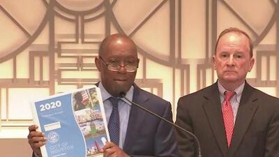 Alcalde de Houston realiza la presentación de su propuesta para el presupuesto del año fiscal 2020