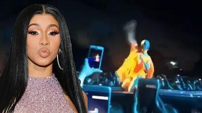 Cardi B lanzó su peluca al público en pleno concierto, pero ahora la pide de regreso en Instagram