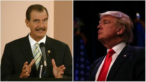 """""""Es un escandaloso, exagerado y mentiroso"""": Vicente Fox sobre medidas de Trump"""