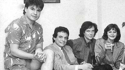 La icónica foto de José José, Juan Gabriel, Camilo Sesto y Rocío Dúrcal